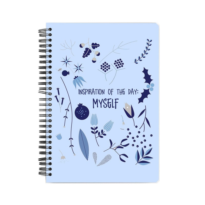 I am my own Inspiration Suprcrowd A5 Unruled Notebook - SuprCrowd