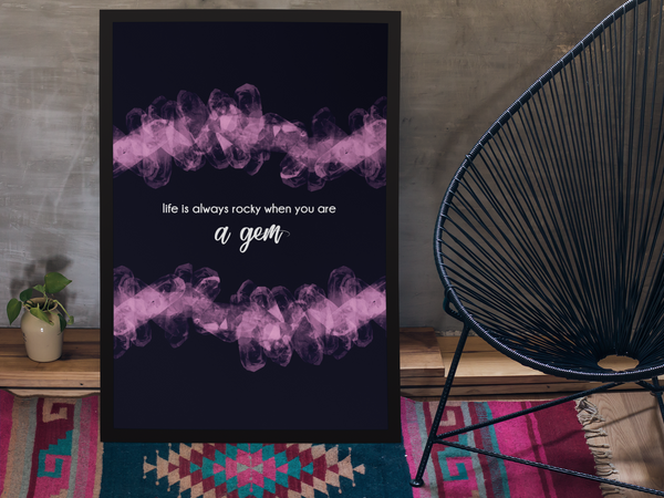 You are a Gem SUPRCROWD Posters - SuprCrowd