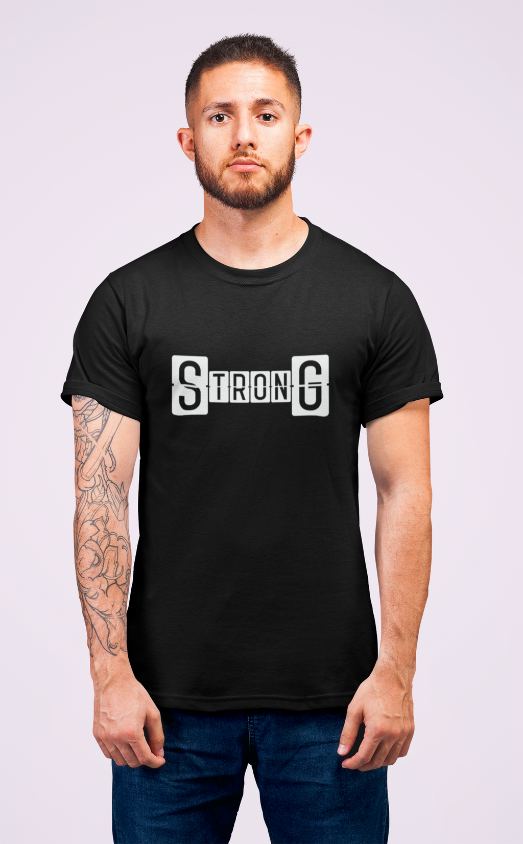 Strong Gym T-shirts for Men by SuprCrowd - SuprCrowd