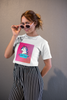SUPER FANCY UNICORN Round neck T-Shirts for Women - SuprCrowd
