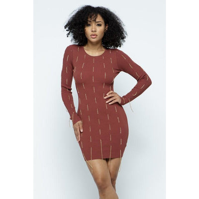 Chain Reaction Mini Dress