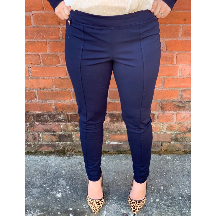 Mid Rise Ankle Dress Pants