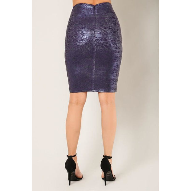 Metallic Design Skirt