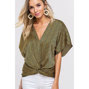 Twisted Shine Blouse