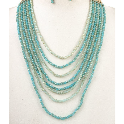 Beaded Layers Necklace