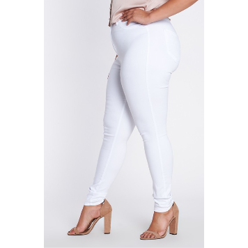 White Stretch Denim