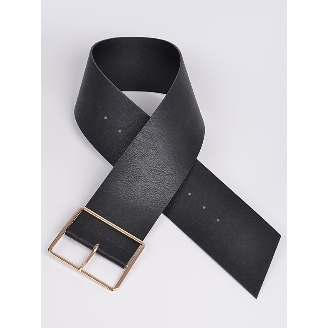 Curvy Bee Wide buckle Belt