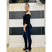 High Rise Curvy Fit Jean