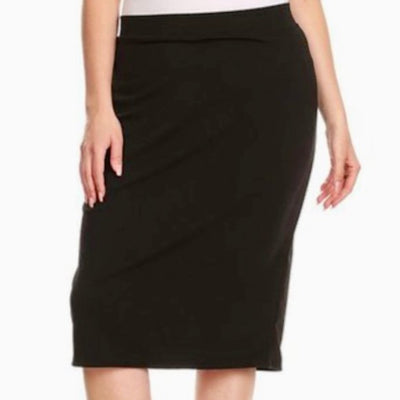 Mid pencil skirt