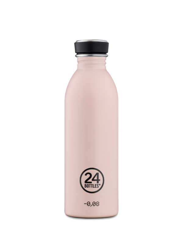 Gourde en inox Dusty pink 500ml