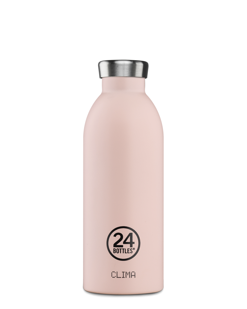 Gourde en inox isotherme 24 Bottle Dusty pink