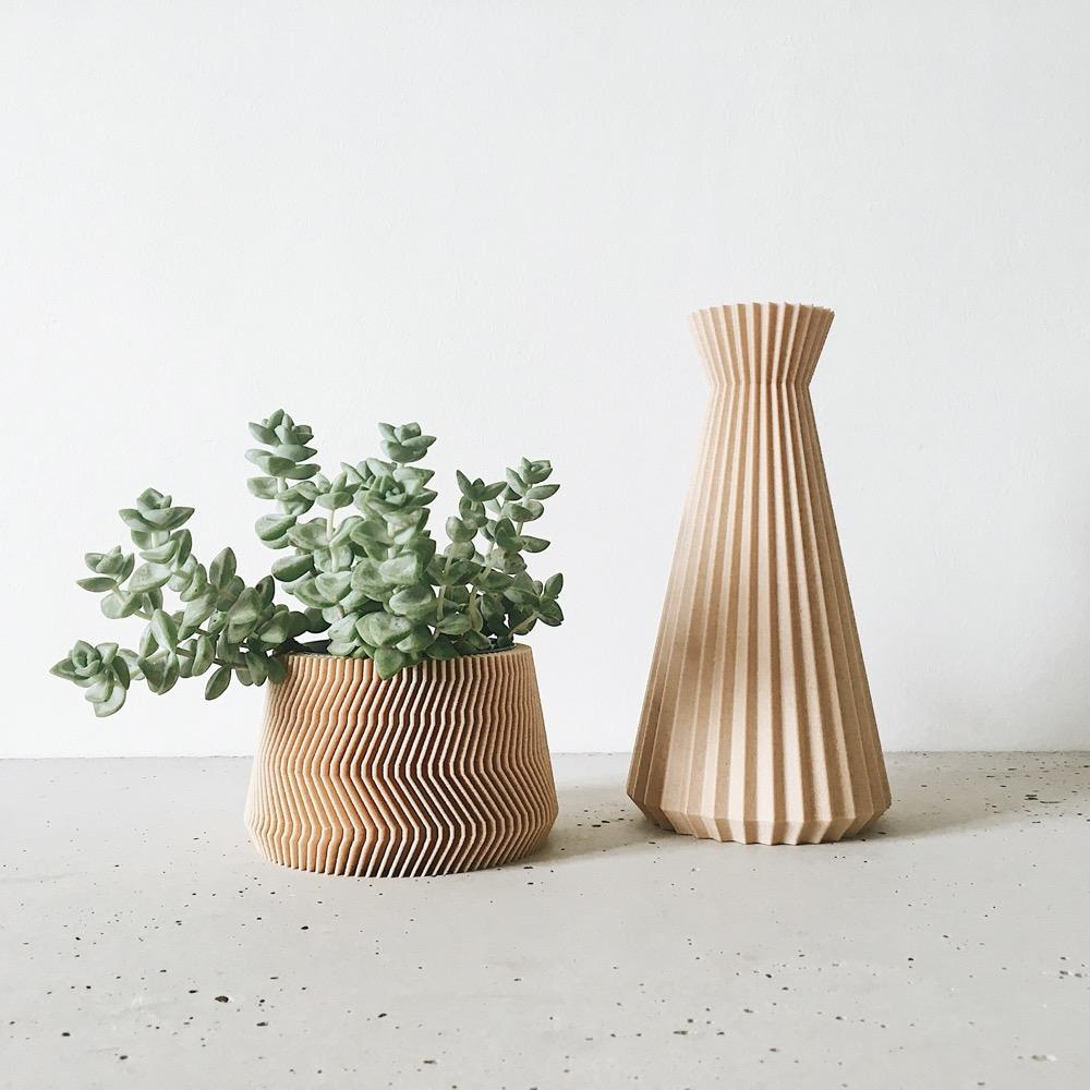 Vase Ishi Minimum Design