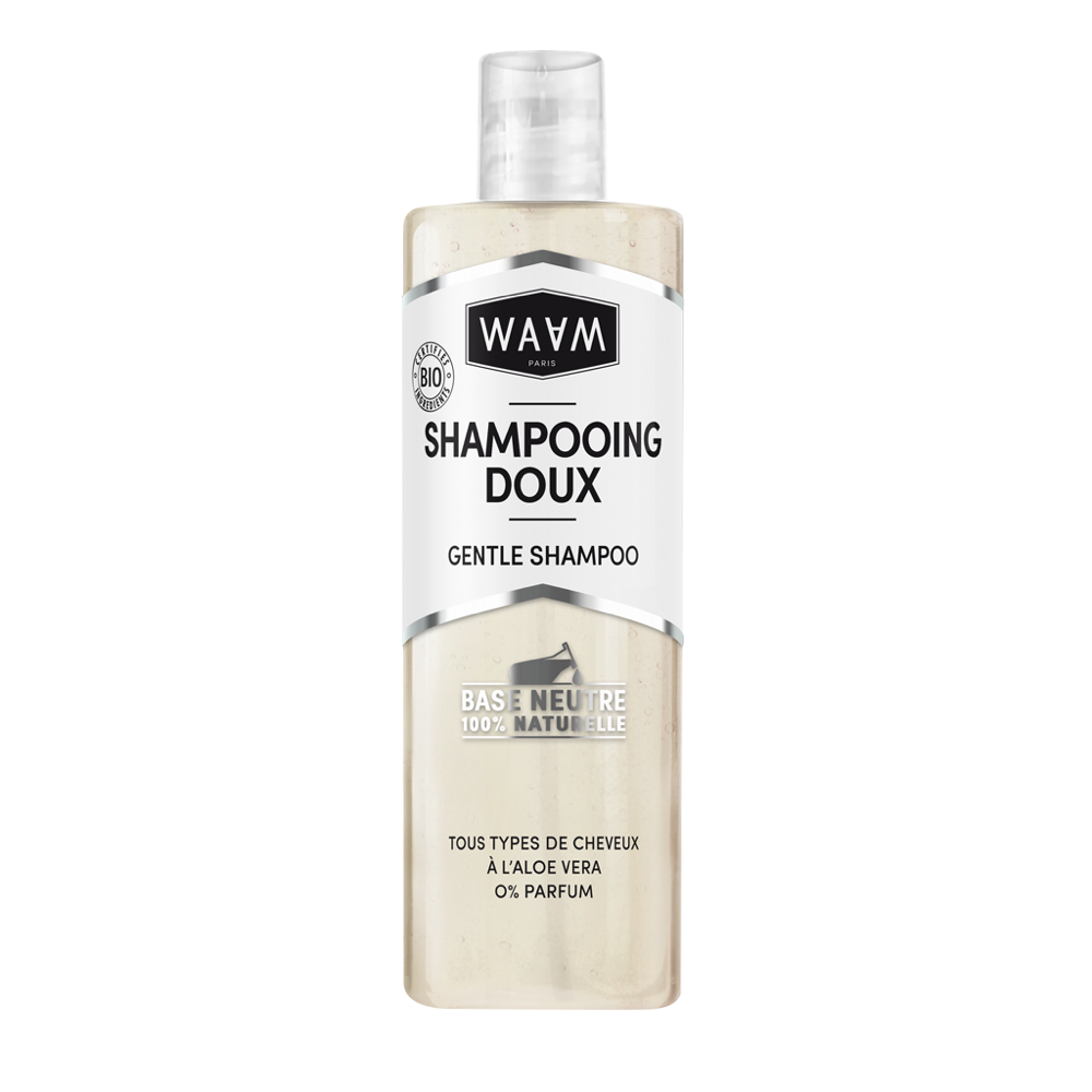 Base shampoing doux Waam