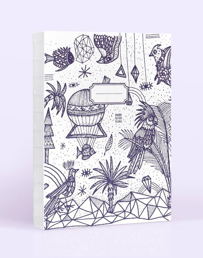 Carnet de dessin Little Maddi Letterpress de Paris