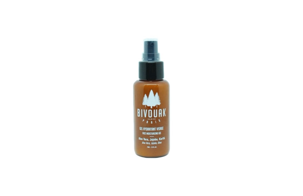 Gel hydratant visage Bio Bivouak Paris