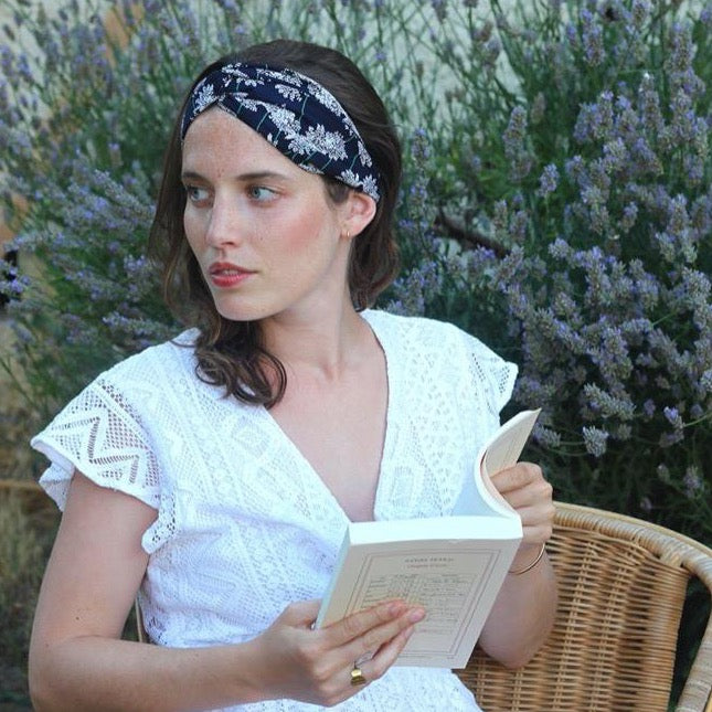 Headband Appoline Made in Paris Laure Derrey
