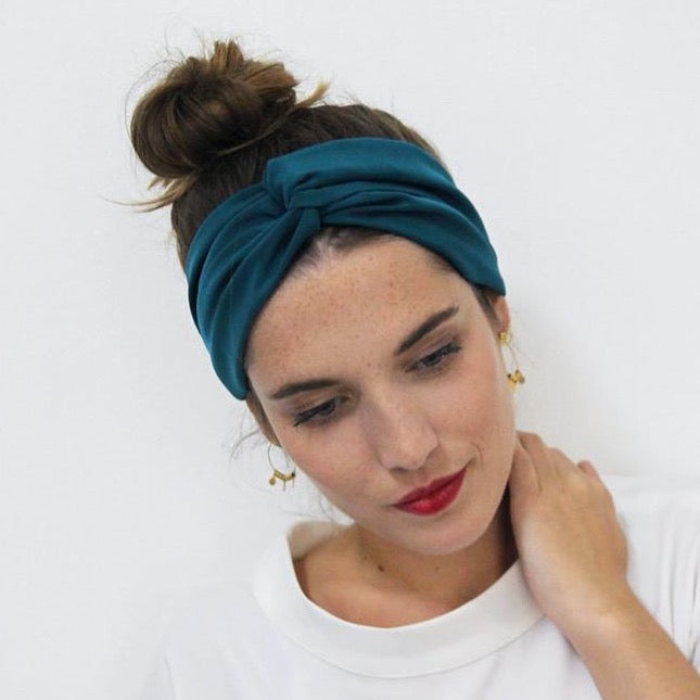 Headband uni canard Made in Paris Laure Derrey