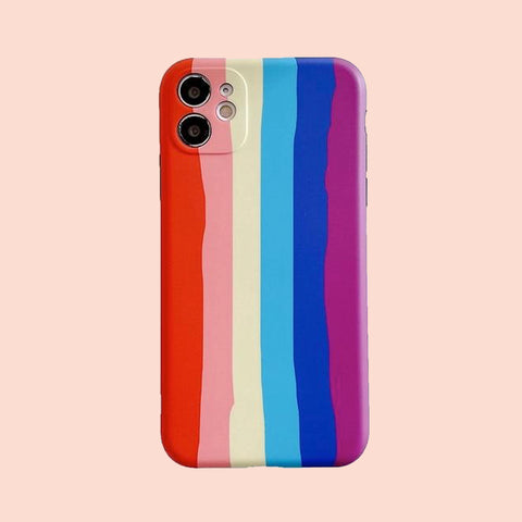 Funda iPhone 12 Arco Iris