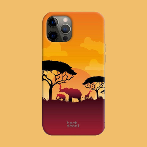 Funda iPhone 12 Pro Max Africa Sunset