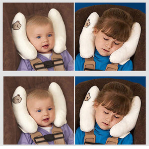 Baby Shaping Pillow Head Protection Car Seat Strollers Travel Pillow Baby Infant Toddler Head Support Body Support Cushions
