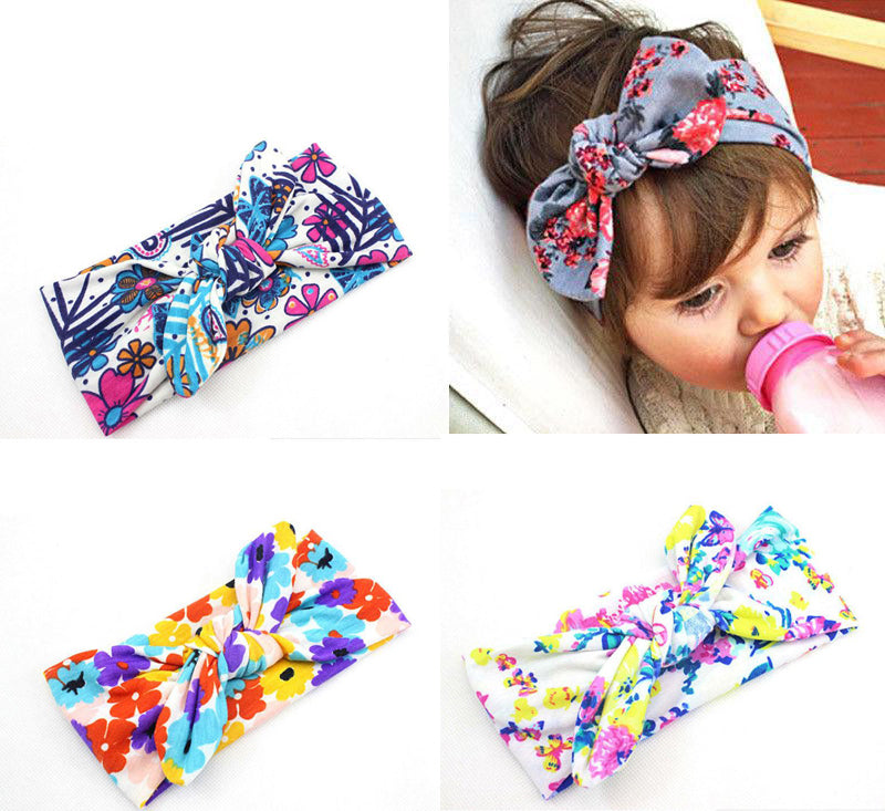 Colorful Toddler Headband (Bundle of 3)