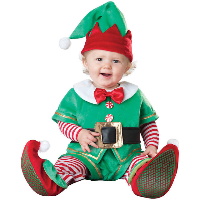 Christmas & Halloween - Boys Girls Costume Rompers