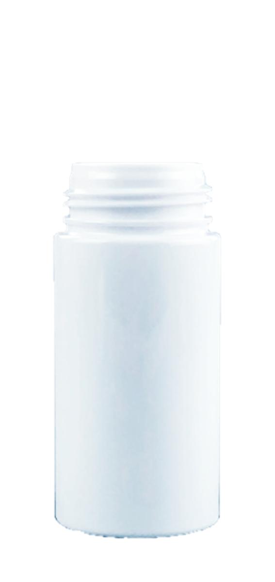 Bottle 100mL Foamer 43/410 WhiteSolid PET