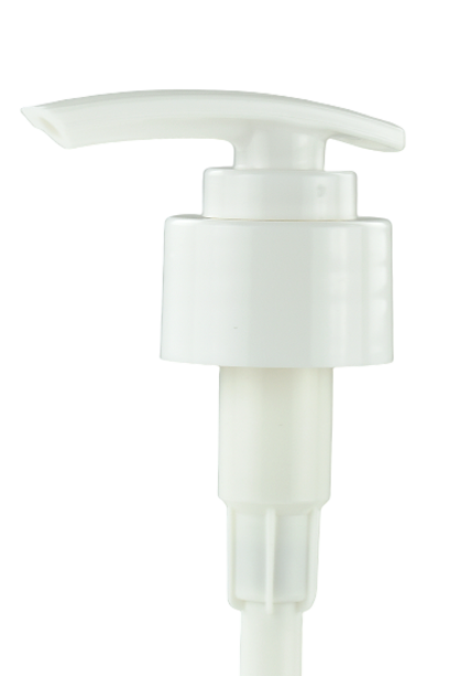 LPT Lotion Pump Arch-SW 28/410 White 245dt fbog Smooth-Wall