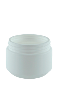 Jar 500mL Bro Squat Base 95mm White HDPE