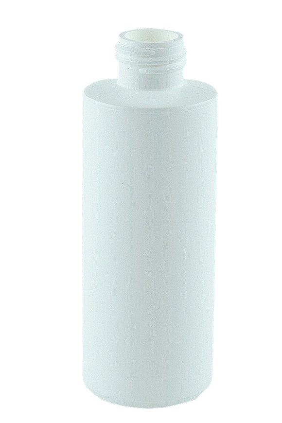 Bottle 125mL Bro Cylinder 24/410 White HDPE