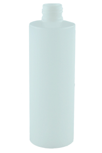 Bottle 250mL Bro Cylinder 24/410 Natural HDPE