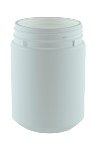 Jar 1Ltr Bro Base 95mm White HDPE TAMPER-EVIDENT