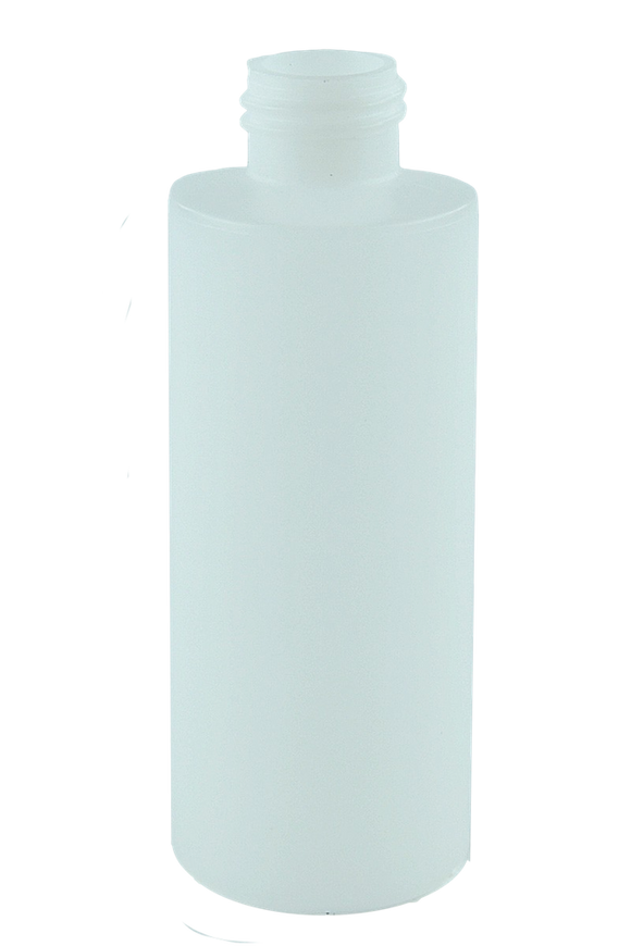 Bottle 125mL Bro Cylinder 24/410 Natural HDPE