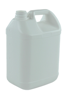 Jerry Can 4Ltr 38/410-TE White HDPE TAMPER-EVIDENT