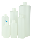Bottle 100mL Bro Cylinder 24/410 Natural HDPE