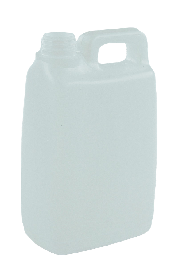 Jerry Can 2Ltr 38/410-TE Natural HDPE TAMPER-EVIDENT
