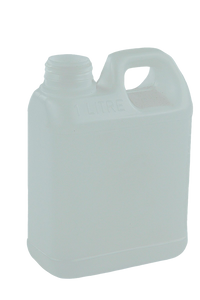 Jerry Can 1Ltr 38/410-TE Natural HDPE TAMPER-EVIDENT