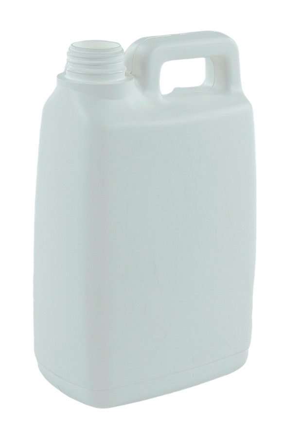 Jerry Can 2Ltr 38/410-TE White HDPE TAMPER-EVIDENT