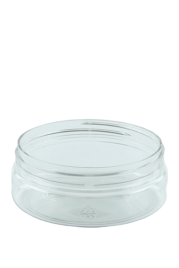 Jar 150mL Lowline Base 89mm Clear PET