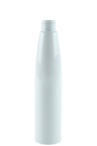 Bottle 250mL Bullet 24/410 White PET