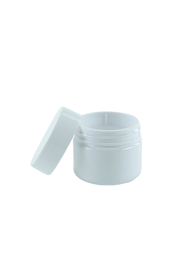 Lid 37mm Lowline White-Brilliant PP Flat + Cello Wad