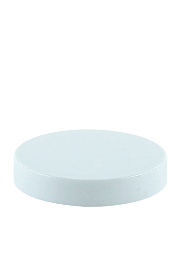Lid 70mm Lowline White-Brilliant PP Flat