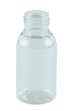 Bottle 50mL Tall Boston Light 24/410 Clear PET