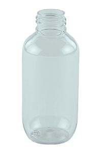 Bottle 100mL LA Squat Boston 24/410 Clear PET