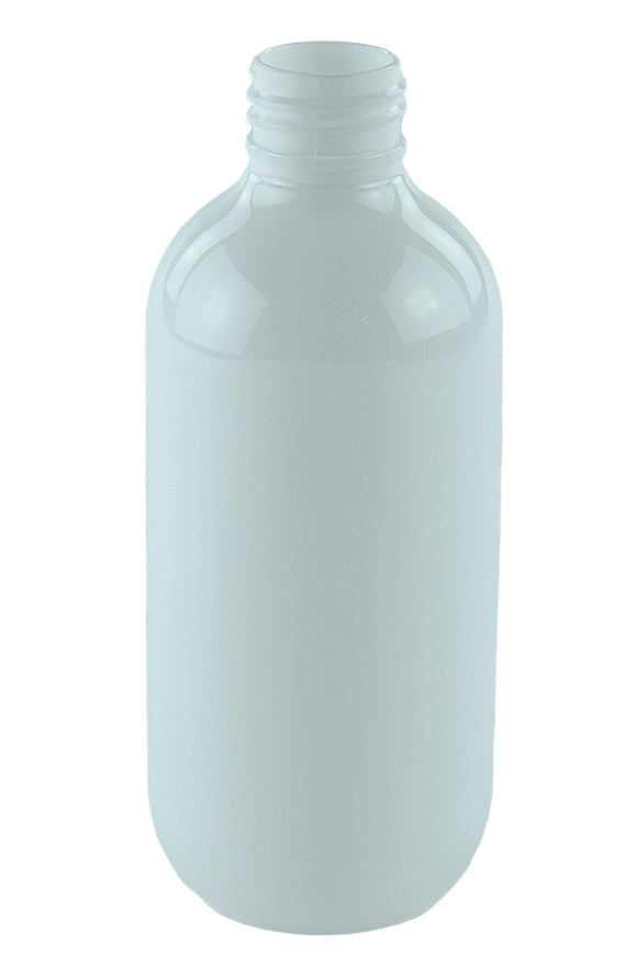 Bottle 200mL LA Squat Boston 24/410 White PET