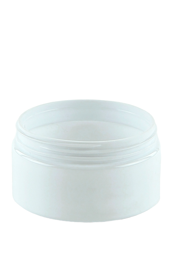 Jar 100mL Lowline Base 70mm White PET