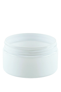 Jar 250mL Lowline Base  89mm White PET