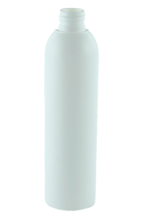 Bottle 250mL VP Boston 24/410 White HDPE
