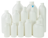Bottle 250mL VP Boston 24/415 White HDPE