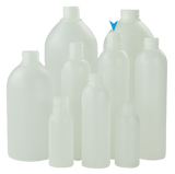 Bottle 250mL VP Boston 24/415 Natural HDPE